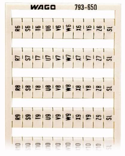 WAGO 793-650 793-650 WMB-multi-opschriftsysteem 5 stuks