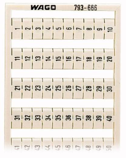 WAGO 793-666 793-666 WMB-multi-opschriftsysteem 5 stuks