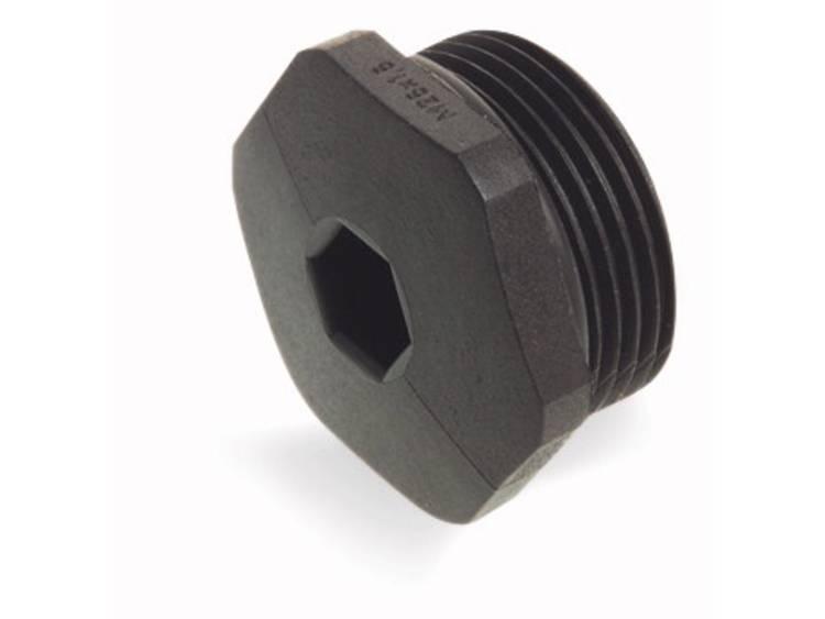WAGO 895-1605 Blindstoppen met O-ring Polyamide Zwart 5 stuks