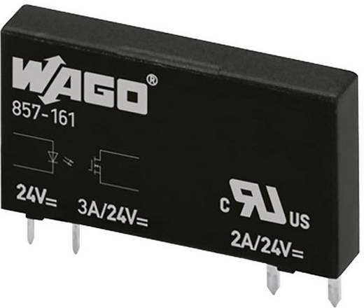 WAGO 857-161 Halfgeleiderrelais 20 stuks Laadstroom (max.): 3 A Schakelspanning (max.): 24 V/DC