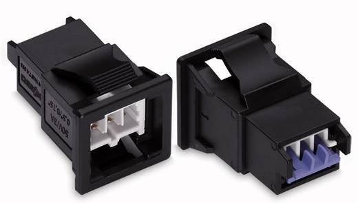 Netstekker Serie (connectoren) WINSTA KNX Stekker, recht Totaal aantal polen: 2 3 A Lichtgrijs WAGO 50 stuks