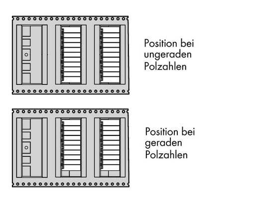 WAGO 713-1426/105-000/997-406 Male header (standaard) 1735 Totaal aantal polen 12 Rastermaat: 3.50 mm 120 stuks
