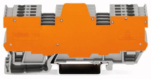 Basisklemblok 5 mm Veerklem Toewijzing: L Grijs WAGO 769-195/769-319 5 stuks