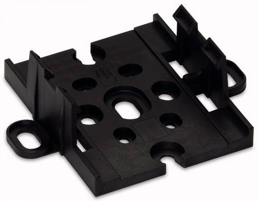 WAGO 772-260 Montageplaat Zwart 10 stuks