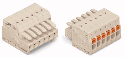 WAGO 2734-104 Busbehuizing-kabel 2734 Totaal aantal polen 4 Rastermaat: 3.50 mm 100 stuks