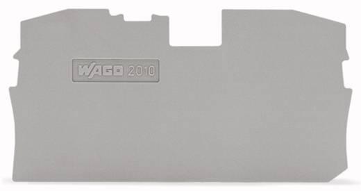 WAGO 2010-1291 Afsluit- en tussenplaat 100 stuks