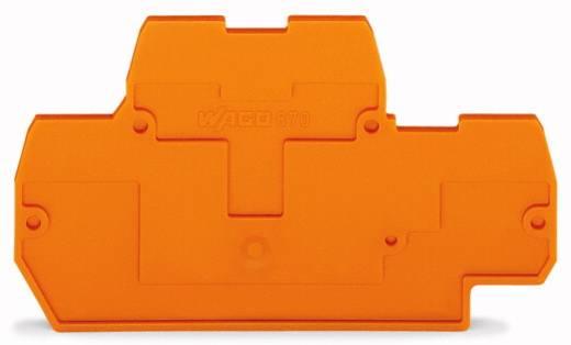 WAGO 870-519 Afsluit- en tussenplaat 100 stuks