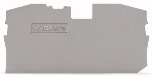 WAGO 2016-1291 Afsluit- en tussenplaat 100 stuks