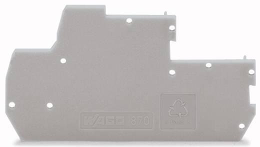 WAGO 870-118 Afsluit- en tussenplaat 100 stuks