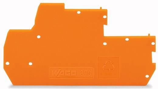 WAGO 870-119 Afsluit- en tussenplaat 100 stuks
