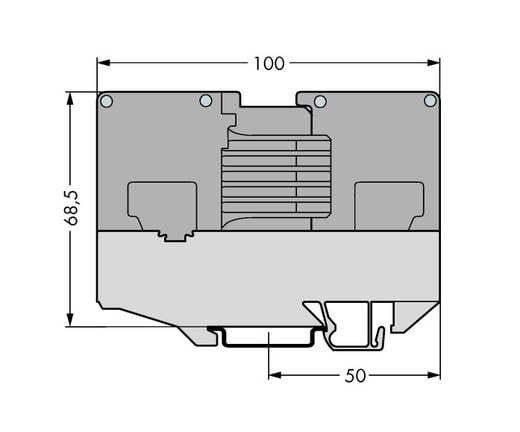 WAGO 834-137 Montageadapter Inhoud: 10 stuks