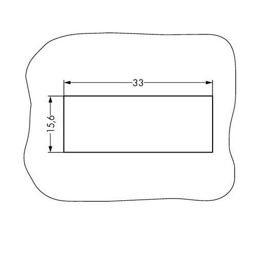 WAGO 890-735 Netstekker Stekker, recht Totaal aantal polen: 5 13 A Wit 50 stuks