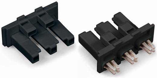 Netstekker Serie (connectoren) WINSTA MIDI Bus, recht Totaal aantal polen: 3 25 A Zwart WAGO 100 stuks