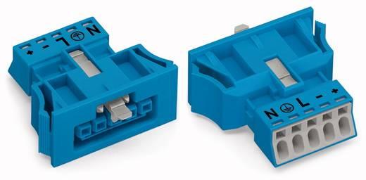 Netstekker Serie (connectoren) WINSTA MINI Bus, recht Totaal aantal polen: 5 16 A Blauw WAGO 50 stuks