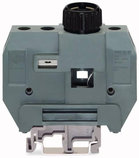 Zekeringsklem 24 mm Schroeven Grijs WAGO 400-416/416-298 10 stuks