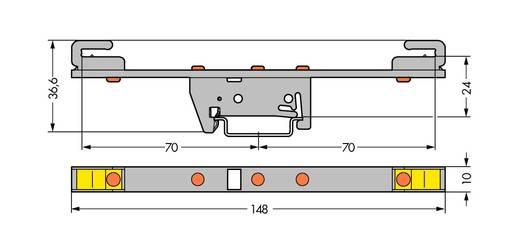 WAGO 790-310 Verzamelrailhouder 10 stuks