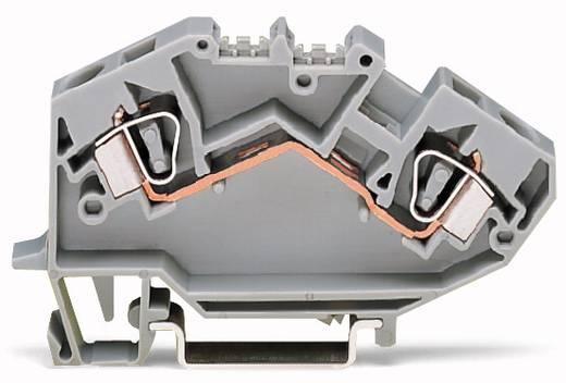 Doorgangsklem 8 mm Veerklem Toewijzing: L Grijs WAGO 782-992 50 stuks