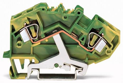 Aardingsklem 8 mm Veerklem Toewijzing: Terre Groen-geel WAGO 782-607 25 stuks