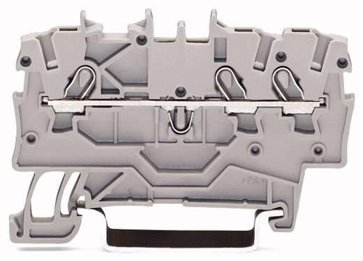 Doorgangsklem 3.50 mm Veerklem Geel WAGO 2000-1306 100 stuks