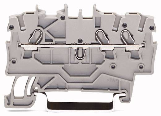 Doorgangsklem 3.50 mm Veerklem Oranje WAGO 2000-1302 100 stuks