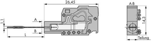 WAGO 231-155 Teststekkermodule met contacttong Inhoud: 100 stuks