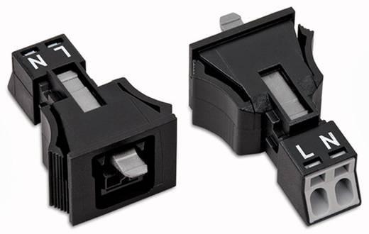 Netstekker Serie (connectoren) WINSTA MINI Bus, recht Totaal aantal polen: 2 16 A Wit WAGO 50 stuks