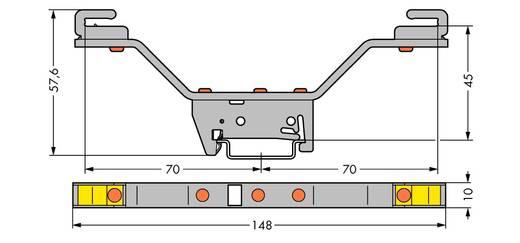 WAGO 790-311 Verzamelrailhouder 10 stuks