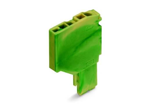 Aderklem 3.50 mm Veerklem Toewijzing: Terre Groen-geel WAGO 2020-267 250 stuks