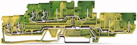 Aardklem 2-etages 5 mm Veerklem Toewijzing: Terre Groen-geel WAGO 870-137 40 stuks