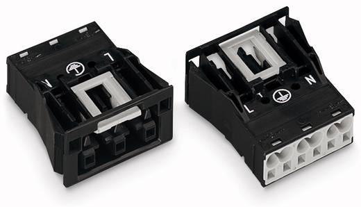 Netstekker Serie (connectoren) WINSTA MIDI Bus, recht Totaal aantal polen: 3 25 A Oranje WAGO 100 stuks