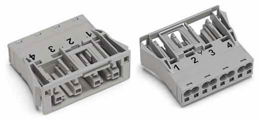 Netstekker Serie (connectoren) WINSTA MIDI Bus, recht Totaal aantal polen: 4 25 A Grijs WAGO 100 stuks