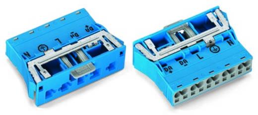 Netstekker Serie (connectoren) WINSTA MIDI Stekker, recht Totaal aantal polen: 4 + PE 25 A Wit WAGO 100 stuks