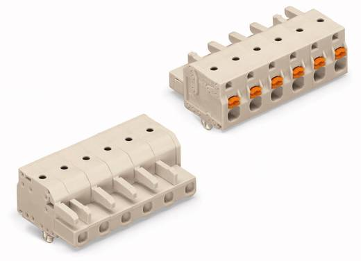 WAGO 2721-206/008-000 Busbehuizing-kabel 2721 Totaal aantal polen 6 Rastermaat: 7.50 mm 50 stuks