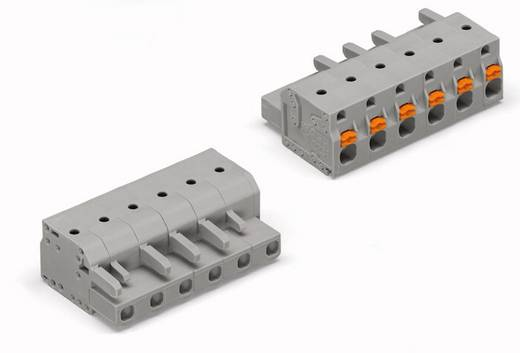 WAGO 2231-206/026-000 Busbehuizing-kabel 2231 Totaal aantal polen 6 Rastermaat: 7.50 mm 50 stuks