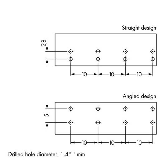 WAGO 770-874 Netstekker Stekker, inbouw verticaal Totaal aantal polen: 4 25 A Lichtgroen 50 stuks