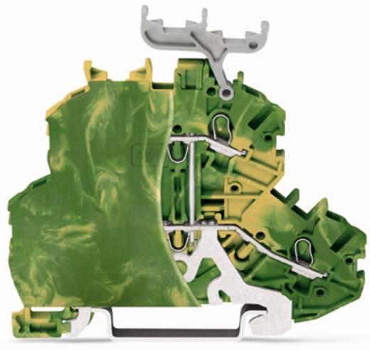 Aardklem 2-etages 4.20 mm Veerklem Toewijzing: Terre Groen-geel WAGO 2000-2207/099-000 50 stuks