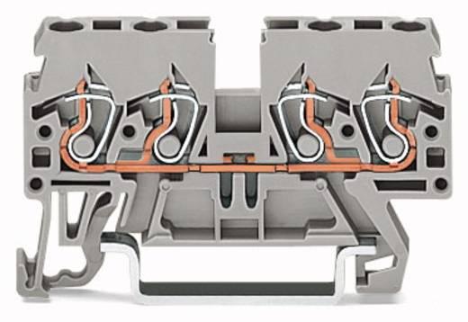 Doorgangsklem 5 mm Veerklem Rood WAGO 870-833 100 stuks
