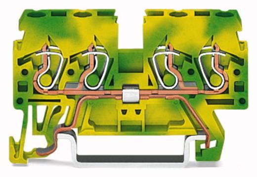 Aardingsklem 5 mm Veerklem Toewijzing: Terre Groen-geel WAGO 870-837 100 stuks