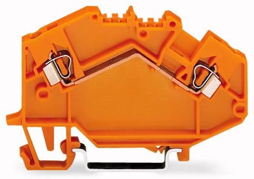 Doorgangsklem 5 mm Veerklem Oranje WAGO 780-602 50 stuks