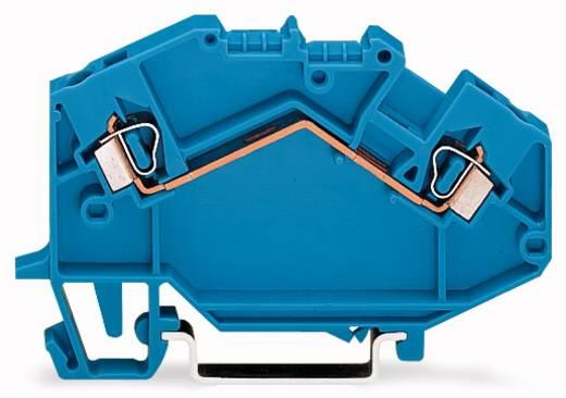 Doorgangsklem 5 mm Veerklem Toewijzing: N Blauw WAGO 780-604 50 stuks