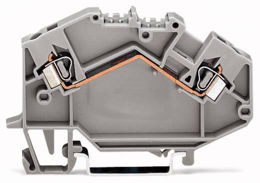 Doorgangsklem 5 mm Veerklem Toewijzing: L Grijs WAGO 780-601 50 stuks