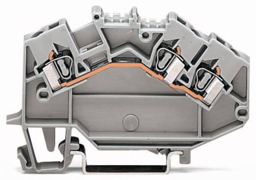Doorgangsklem 5 mm Veerklem Toewijzing: L Grijs WAGO 780-631 50 stuks