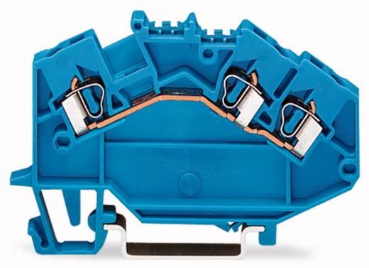 Doorgangsklem 5 mm Veerklem Toewijzing: N Blauw WAGO 780-651 50 stuks