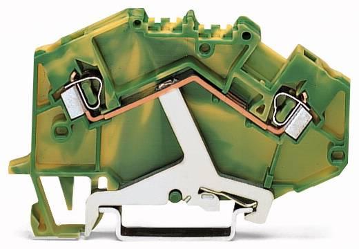 Aardingsklem 5 mm Veerklem Toewijzing: Terre Groen-geel WAGO 780-607/999-950 50 stuks