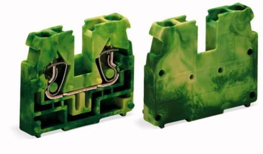 Doorgangsklem Veerklem Groen-geel WAGO 869-347 100 stuks