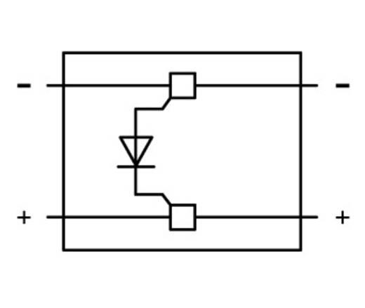 WAGO 2002-880/1000-411 2002-880/1000-411 Diodebouwsteen 50 stuks
