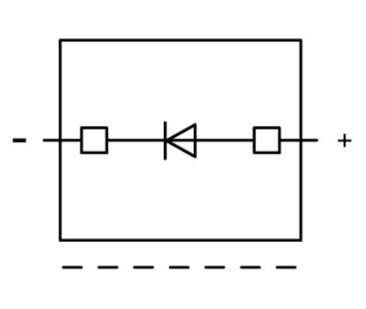WAGO 2002-800/1000-411 Diodebouwsteen 100 stuks