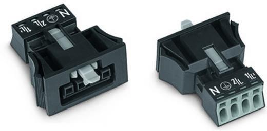 Netstekker Serie (connectoren) WINSTA MINI Bus, recht Totaal aantal polen: 4 16 A Lichtgroen WAGO 50 stuks