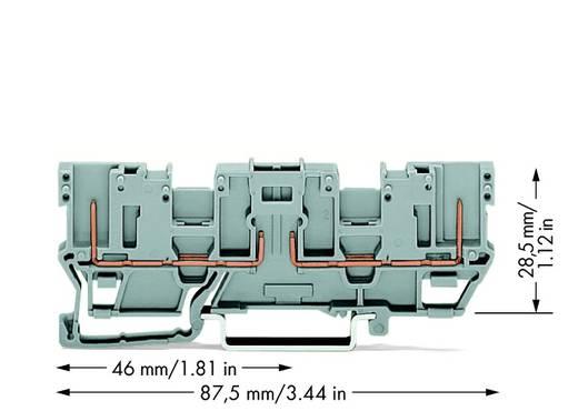 Basisklem 5 mm Veerklem Toewijzing: L Grijs WAGO 769-161 50 stuks