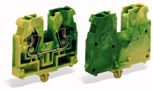 Doorgangsklem Veerklem Groen-geel WAGO 869-317 100 stuks